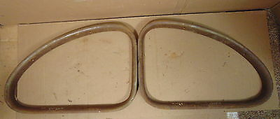 1946 1947 1948 Ford Mercury Coupe Rear Quarter Garnish Molding Trim Pair