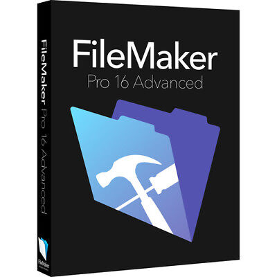 FileMaker Pro 16 Advanced Win/Mac e-delivery or USB Stick