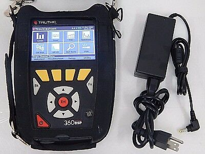 Trilithic (360Dsp) 360 Dsp Home Certification Cable Digital Meter & Charger