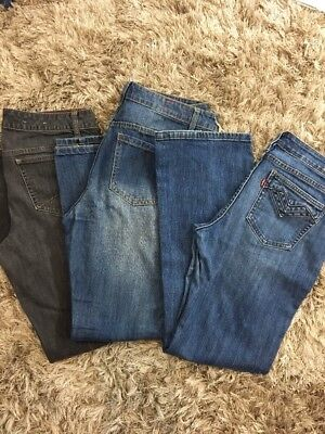 Levis Tommy Hilfiger Adam Levine Jeans Size 10 Womens Lot Of 3 Only $10 Each B01