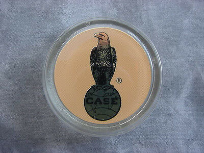 CASE 130 180 GARDEN TRACTOR CLEAR STEERING WHEEL CAP with DECAL