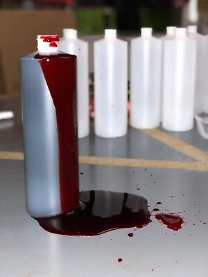 Professional Halloween Special Effects Fake Blood 16oz For Haunted Houses