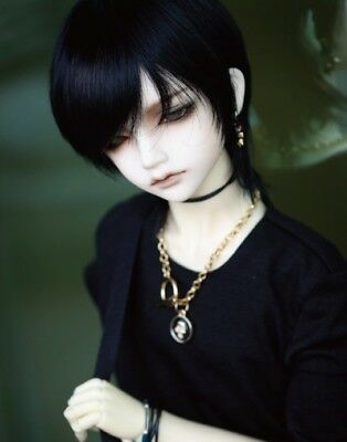 "New 1/4 Boy BJD SD DOC DOD LUT Doll Wig Short Dollfie 7"" Bjd Doll Wig FA21"