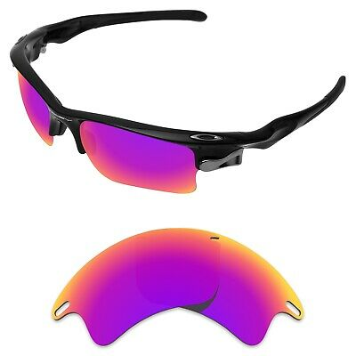be118e46f6e74 Tintart Polarized Replacement Lenses for-Oakley Fast Jacket XL Magenta Red  (STD)
