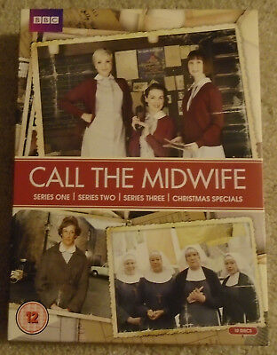 Call the Midwife, Series 1, 2, and 3, REGION 2! DVD Set
