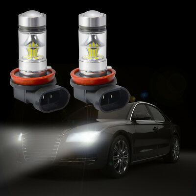 2X CREE 200W 3600LM H4/H7/H11 LED Headlight Conversion Kit Auto Luci Bulb Bianco