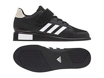 2017 adidas Power Perfect III Mens Weight Lifting Shoes - Black - Free P&P