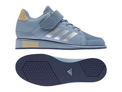 2017 adidas Power Perfect III Weight Lifting Shoes - Sky - Free P&P