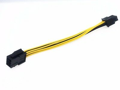 1pcs 6-pin to 8-pin PCI Express Power Converter Cable for GPU Video Card PCIE