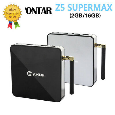 VONTAR Z5 SUPERMAX Amlogic S912 Octa Core Android 6.0 TV Box EU Plug