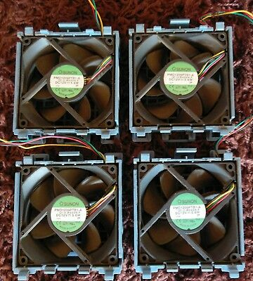 4 x HP ProLiant SPS fan ML350 G5 413978-001 Sunon Lüfter PC Server