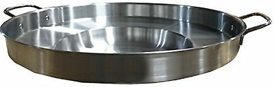 Bioexcel Comal Bola Stainless steel Griddle Pan Concave Shaped 23 Inch - Choo...