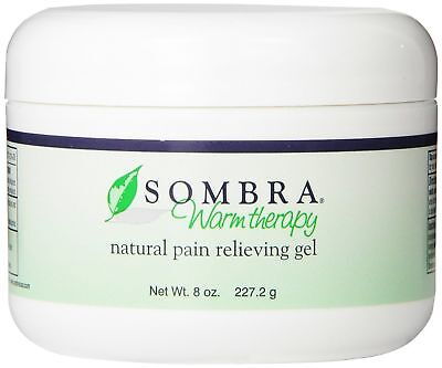 SOMBRA WARM THERAPY ALL NATURAL PAIN RELIEF GEL 8oz FREE FAST SHIPPING O