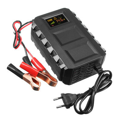 Intelligent 12V 20A Automobile Lead Acid Battery Charger Car Motorcycle Truck CA