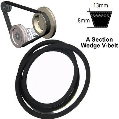A Section V-Belt Sizes A61-A165.5 8mm*13mm High Quality For Industrial LawnMower