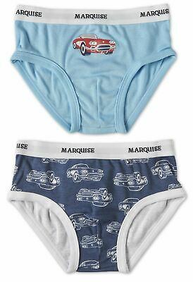 NEW Marquise Boys Vintage Cars 2 Pack Undies