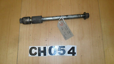 Rear (Rr) / Back Wheel Axle / Spindle Assembly - Yamaha YBR125 2008 #CH054