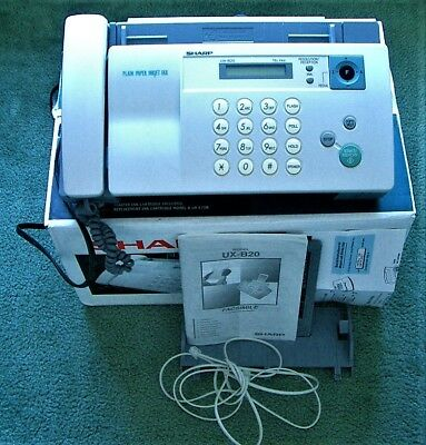 Sharp UX-B20 Phone/Fax Machine