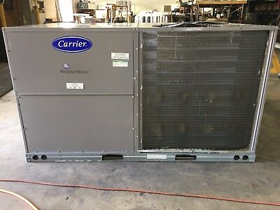 Carrier 7.5 Ton Heat Pump Rooftop Unit New-Old Stock 50TCQD08A2A5A0A0A0 460-3v