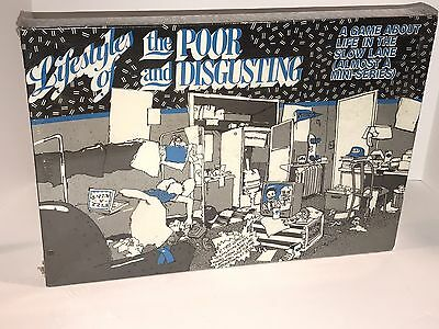 Vintage Lifestyles Of The Poor And Disgusting Board Game By Baron/Scott