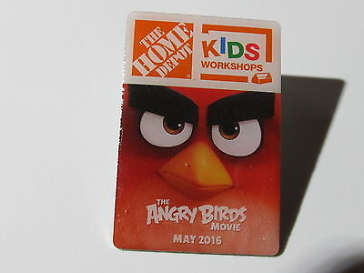 home depot collectibles home depot kids workshop angry birds lapel pin