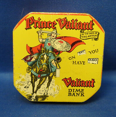 Prince Valiant Dime Bank in Very Good Condition,