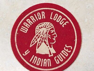 YMCA Indian Guides Warrior Lodge Patch - 3""