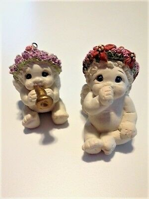 Dreamsicles Christmas Ornaments - Set of 2 - Excellent condition