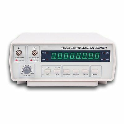 NEW VC3165 Professional Radio Frequency Counter RF Meter 0.01Hz~2.4GHz US Seller