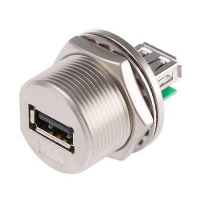 1 x RS Pro GTC Sealed Series, Panel Mount Type A USB Connector, Receptacle