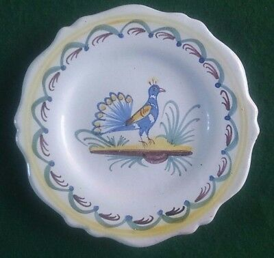 Antique French 18th Century Faience plate