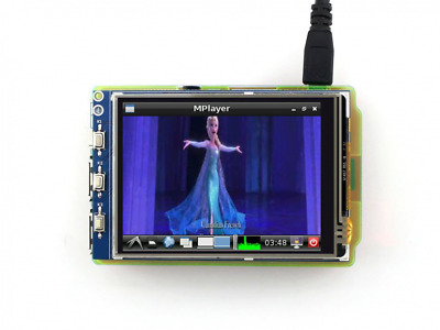 Waveshare Raspberry Pi LCD Display Module 3.2inch 320*240 TFT Resistive Touch Sc