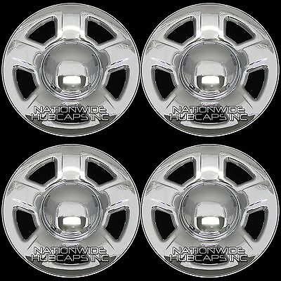 """4 2004-2005 Buick Century hubcaps 15/"""" Chrome Bolt On Buick Century Wheel Covers"""