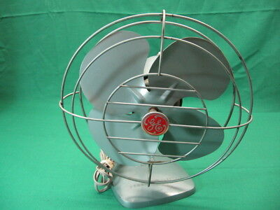"Vintage GE 10"" Fan; All Metal Parts Sold for Parts or Repair"