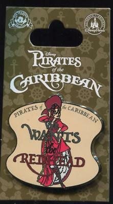 DLR Pirates of the Caribbean We Wants the Redhead Red Head Disney Pin 108798