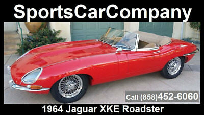 1964 Jaguar E-Type  1964 JAGUAR XKE ROADSTER FRAME OFF GROUND UP RESTORATION STUNNING INSIDE & OUT!