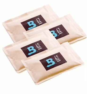 Boveda 62% RH 2-Way Humidity Control, Large 67 gram, 4-Pack