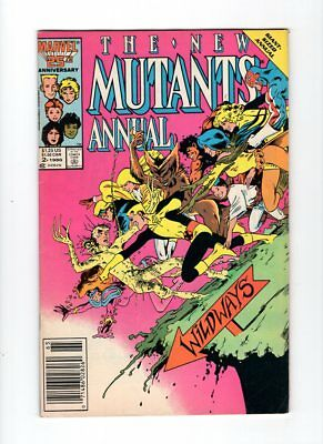 New Mutants Annual #2 1st Appearance of Psylocke Newstand