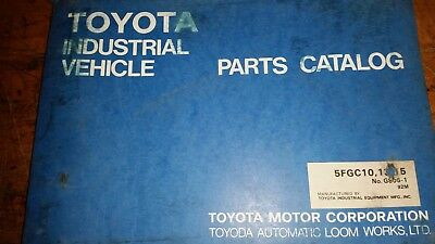 Toyota Forklift Parts Catalog Manual 7fgcu151820253032 7fgcu20. Toyota Forklift 5fgc101315 Parts Catalog Manual. Toyota. Toyota Forklift 42 6fgcu25 Wiring Diagram At Scoala.co