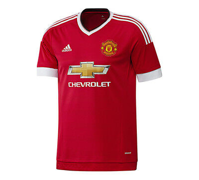New Adidas 2016/17 Manchester United Home Jersey Boys Mens Velocity
