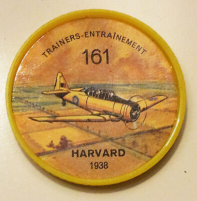 Vintage Jell-O / Hostess Collectors Airplane Trainers Coins - Harvard #161