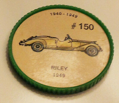 Vintage Jell-O Collectors Picture Wheel Coins - 1940 - 1949 - #150, Riley