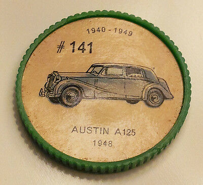 Vintage Jell-O Collectors Picture Wheel Coins - 1940 - 1949 - #141, Austin A125