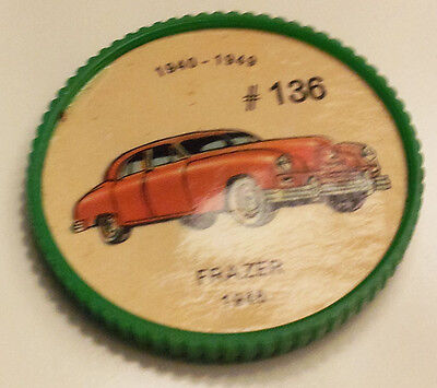 Vintage Jell-O Collectors Picture Wheel Coins - 1940 - 1949 - #136, Frazer