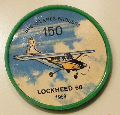 Vintage Jell-O / Hostess Collectors Airplane Bushplane Coins - Lockheed 60 #150