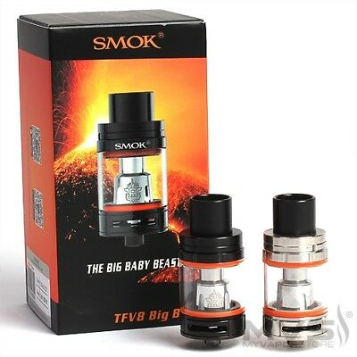 Smok Tfv8 big baby beast Big Tank -ALL COLOURS 100% Authentic Royal Mail Deliver