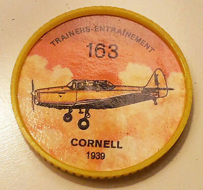 Vintage Jell-O / Hostess Collectors Airplane Trainers Coins - Cornell #163