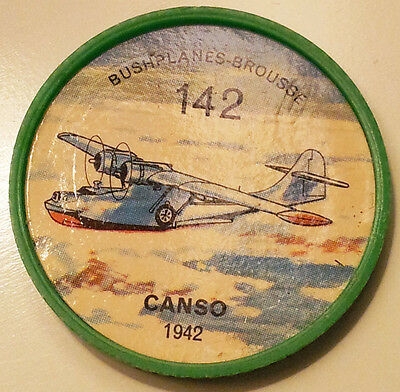 Vintage Jell-O / Hostess Collectors Airplane Bushplane Coins - Canso #142