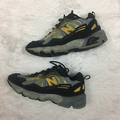 13b093a1732a3 NEW BALANCE WOMEN'S ALL TERRAIN 903 Low GRAY Yellow SIZE 7 Trail Shoes  Hiking