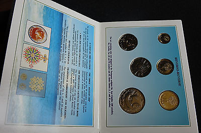collection of shiny coins not circulated 1989 Portugal